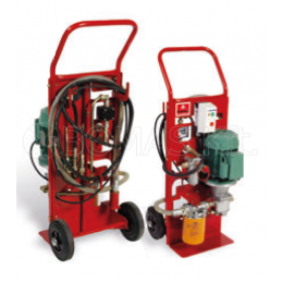 Filter cart, two-stage