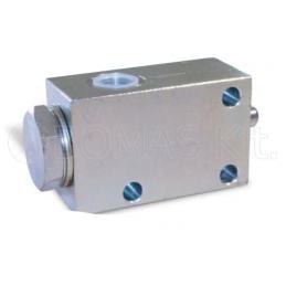 Stroke-end valves