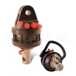Attachment rotators