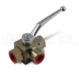 3-way ball valve