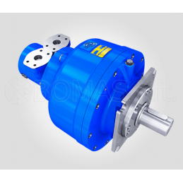 Small SMA Radial Piston Motor