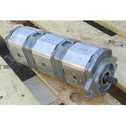 Triple gear pump group 2