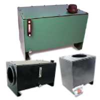 Hydraulic reservoir kits for stationary applications