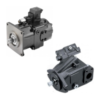 Axial piston pumps with regulated flow