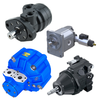 Hydraulic motors and accessories