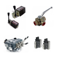 Logic- and directional control valves