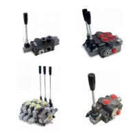Manual directional control valves