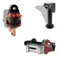 Attachments, accessories for machinery