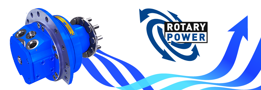 Rotary Power radiáldugattyús hidromotorok