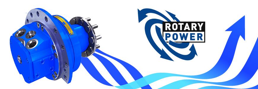 Rotary Power radial piston hydromotors